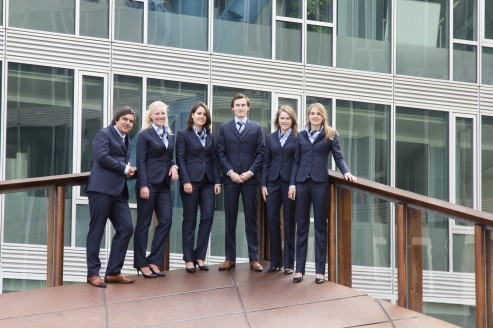 From left to right: Koen, Kim, Miriam, Joeri, Manon, Marle